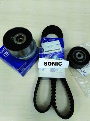 Kit De Distribución De Chevrolet Sonic Repuestos Genuinos