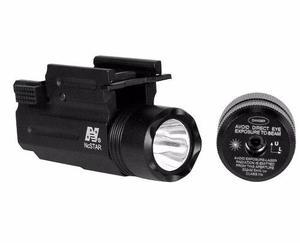 Linterna Ncstar Aqptflg Intercambiable Linterna Y Laser