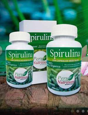 Spirulina Peru Nutrition! La Mejor Calidad Para Tu Familia !