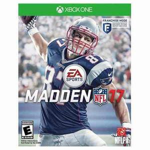 Xbox One - Nfl Madden 17 - Nuevo Y Sellado