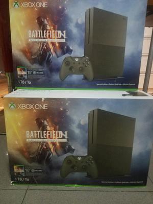 Xbox One S 1tb, Battlefield 1 Edición Limitado