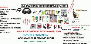 ACCESORIOS DE CELULAR Y COMPUTACION