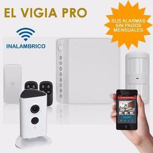 Alarma Smart Inalámbrica + Cámara Para Casa O Negocio -
