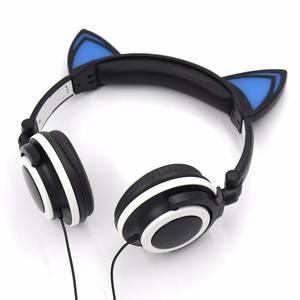 Audifonos Orejas de Gato Led