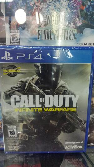 Call Of Duty Infinit Warfare Ps4 Sellado