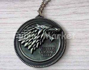 Casa Stark Collar Cadena Juego De Tronos Game Of Thrones Got