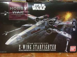 Caza Espacial X-wing Escala 1/72 Bandai Star Wars Modelismo