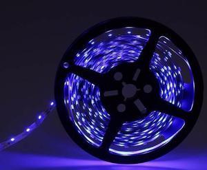 Cinta 300 Led Flexible 5 Metros Decoración Auto Casa Azul
