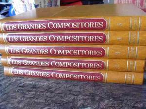 Enciclopedia Salvat Los Grandes Compositores Música