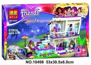 Lego friends pop star limusina posot class - Lego friends casa de livi ...