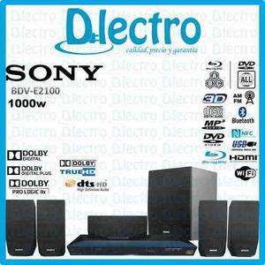Home Theater Bluray 3d Sony Bdv-e2100 - Cine En Casa Sellado