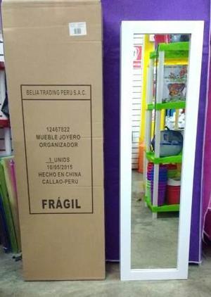 Mueble Joyero Con Espejo Casa & Estilo Belia ¡original!