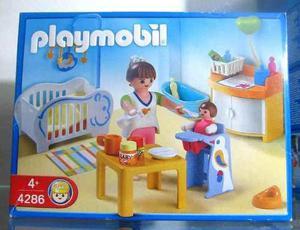 Playmobil 4286 Cuarto De Bebe Casa Coleccion Nuevo Sellado