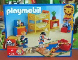 Playmobil 4287 Cuarto De Niños Casa Coleccion Nuevo Sellado