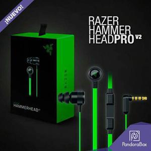 Audífonos Razer Hammerhead Pro V2 (incluye Micrófono)