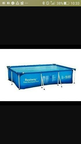 Piscina estructural bestway lima posot class for Cubre piscina bestway