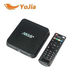 Android Tv Box 4k Ultra Hd Ms8+ Plus Smart Tv