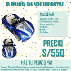 Carros De Lujo 2016 Para Bebes Super Promoción Inigualable