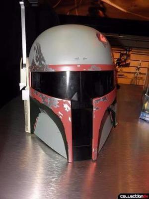 Casco Electronico Boba Fett Star Wars Original Hasbro