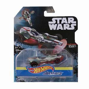 Hot Wheels Star Wars Naves De Personajes Boba Fett Die Cast
