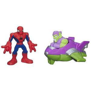 Juguete Vehículo Hombre Araña Salto Arácnido-hasbro