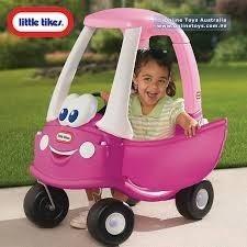 Little Tikes Princess Cozy Coupe Magenta Para Niña