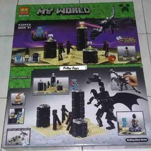 Minecraft The Ender Dragón // El Dragón Final Armable