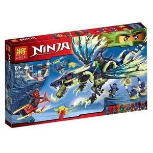 Ninjago Morro El Dragón // Legos De 690 Piezas Armables