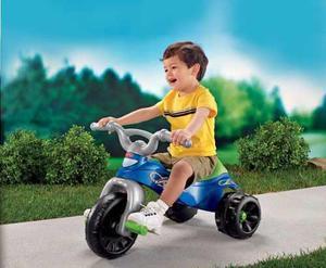 Oferta Fisher Price Triciclo Kawasaki Vehiculo Moto Niño