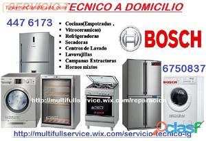 SERVICIO TECNICO BOSCH REFRIGERADORA LAVADORA 6750837