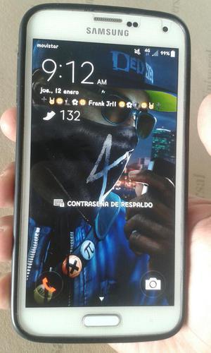 Samsung Galaxy S5 4glte Color Blanco