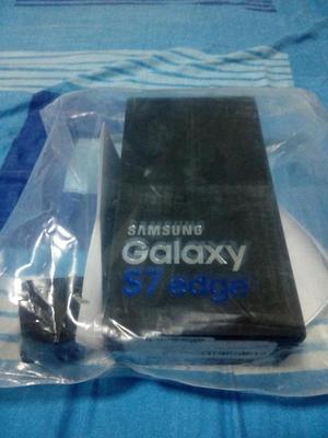 Samsung Galaxy S7 Edge Negro 32 Gb Nuevo, En Caja Sellado