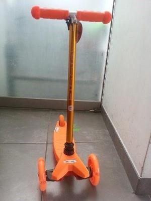 Scooter Ollie Ruedas Con Luces Niños Niñas 2 A 5 Años,