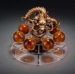 Shen Long Golden Y Clasico Con Base Y Esferas En Caja.