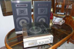 Tocadisco Tornamesa Sears Solid State 3 En 1 Excelente