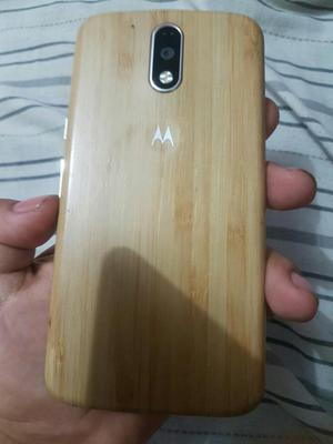 Vendo Moto G4 Plus Doble Sim a 780 Soles