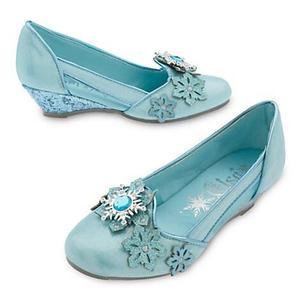 Elsa De Frozen Zapatos Disney Store Talla 2-3 Equiv
