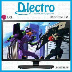 Monitor Tv Led Lg Hd 24mt48af 24 Pulgadas Sellado