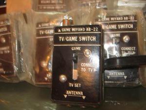 40 Selectores Switch Para Atari Y Tv Antiguas Nuevos