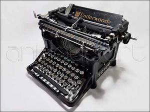 A64 Maquina Escribir Underwood Antigua Funcional Decoracion