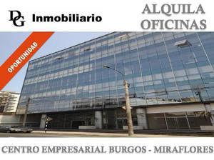 ALQUILER DE OFICINA IMPLEMENTADA 105.00 M2 EN CE BURGOS -