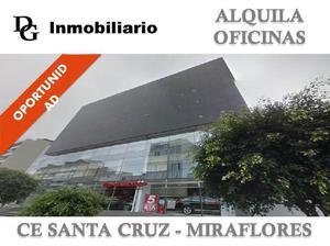 ALQUILER DE OFICINA IMPLEMENTADA DE 329 M2 - MIRAFLORES