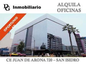 ALQUILER DE OFICINA IMPLEMENTADA DE 506 M2 - SAN ISIDRO