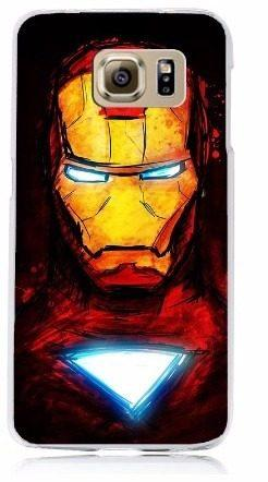 Case Funda Marvel - Samsung Galaxy S7 Perfil Iron Man