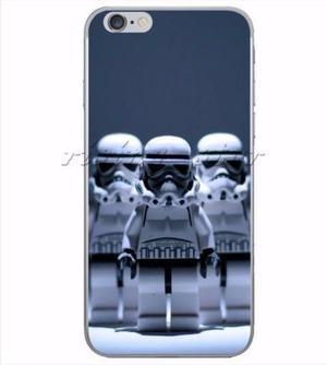 Case Funda Star Wars - Iphone 6 6s Modelo Lego Stormtrooper