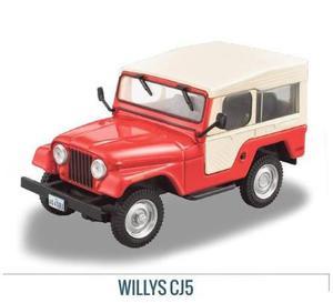 Colección Jeep Willys Cj- Ixo