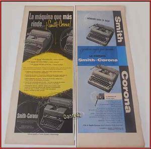 Dante42 Publicidad Antigua Retro Maquina Escribir 1953 1955