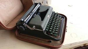 Ev Antigua Maquina De Escribir Sueca Halda Operativa