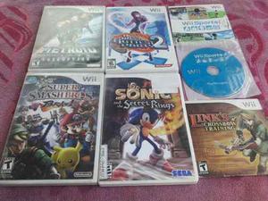 Juegos De Nintendo Wii Originales