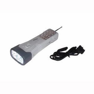 Linterna Lampara Recargable Con Radio Fm Opalux Op-3714